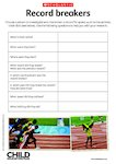 Record breakers - research activity (1 page)