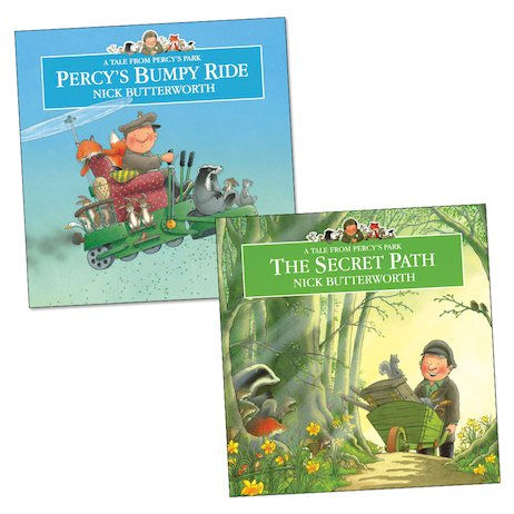 Percy the Park Keeper Twin Pack