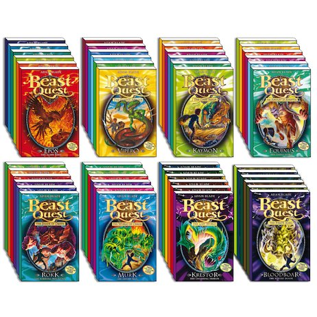 Beast Quest Mega Pack: Series 1-8