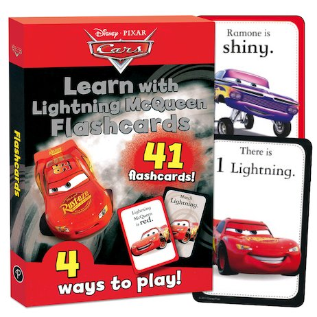 Cars: Learn with Lightning McQueen Flashcards
