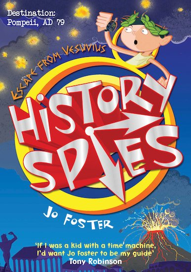 History Spies: Escape from Vesuvius