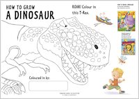 Colour a T-Rex