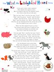 What the Ladybird Heard Song (1 page)