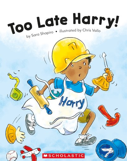 Guided Readers: Too Late Harry! x 6