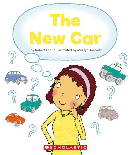 Guided Readers: The New Car x 6
