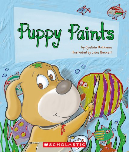 Guided Readers: Puppy Paints x 6