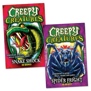 Creepy Creatures Pair