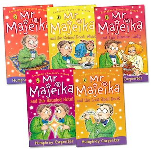 Mr Majeika Pack x 5