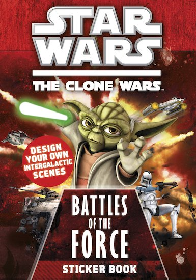Star Wars: Battles of the Force Sticker Book