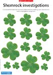 Saint Patrick's Day - Shamrock investigations (2 pages)