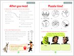 Shrek 2 - Sample Activities (1 page)