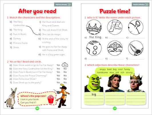 Shrek 2 - Sample Activities