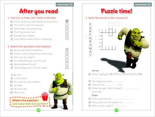 Shrek the Third - Sample Activities