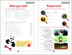 Kung Fu Panda - Sample Activities (1 page)