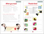 Mr Bean: The Palace of Bean - Sample Activities (1 page)