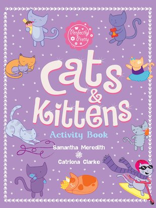 Cats & Kittens Activity Book