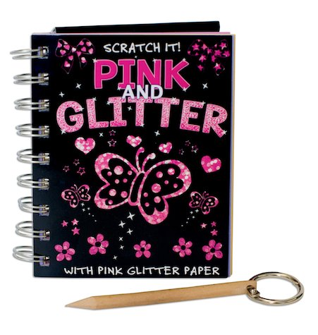 Scratch It! Pink and Glitter