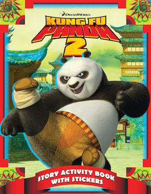 Kung Fu Panda 2: Story Activity Book