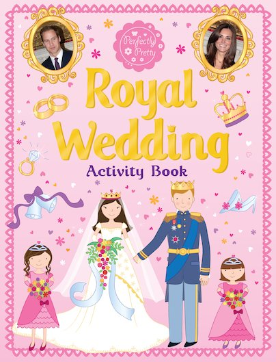 Royal Wedding Activity Book