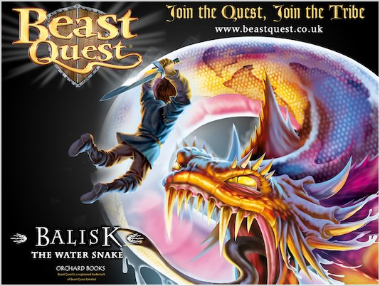 *Exclusive* Beast Quest 8 Wallpaper
