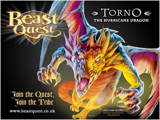 *Exclusive* Beast Quest 8 Wallpaper