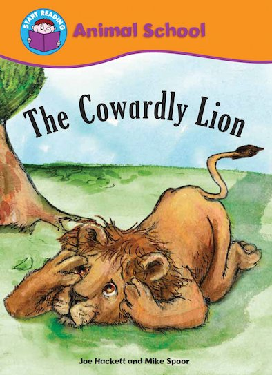 Animal School: The Cowardly Lion