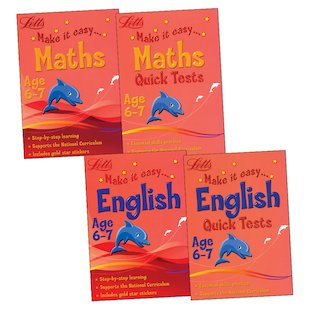 Make It Easy: Maths and English Pack (Ages 6-7)