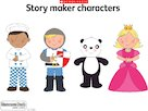 Story maker cards