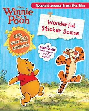 Winnie the Pooh: Wonderful Sticker Scene