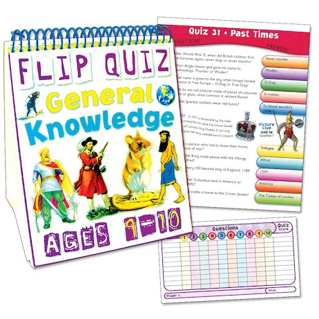 Flip Quiz: General Knowledge (Ages 9-10)
