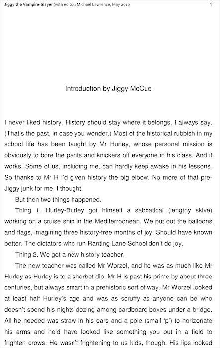 Jiggy S Genes Jiggy The Vampire Slayer Scholastic Kids