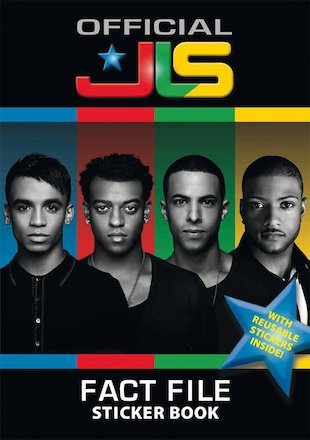 JLS Fact File Sticker Book