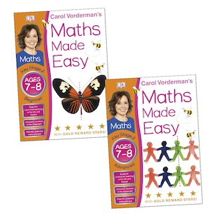 Maths Made Easy Pair: Ages 7-8