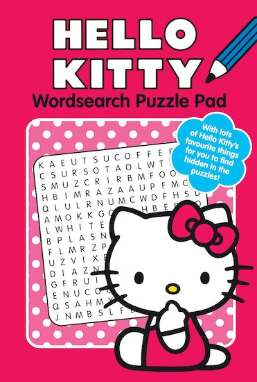 Hello Kitty: Wordsearch Puzzle Pad
