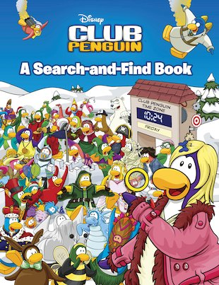 Club Penguin: A Search-and-Find Book