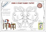 Make a Stunt Bunny Puppet