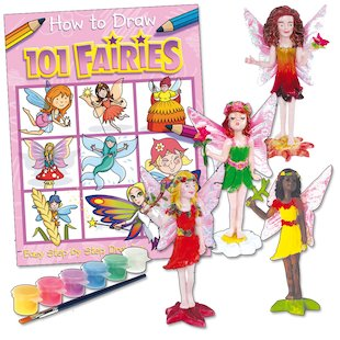 Paint Your Own Magical Fairies Pack