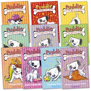 Puddle the Naughtiest Puppy Pack