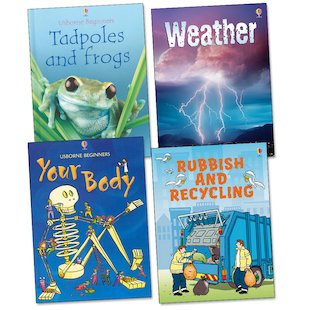 Usborne Beginners: Your World Pack