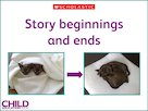 Story beginnings and ends