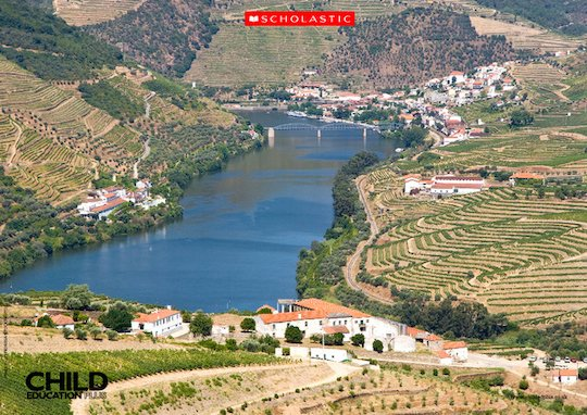 The Duoro Valley - Geography poster