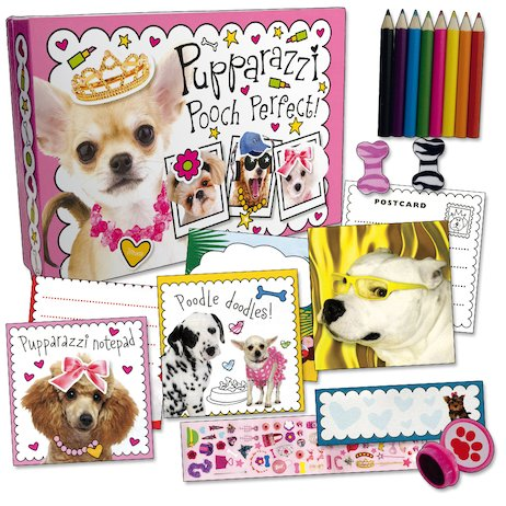 Pupparazzi Pooch Perfect! Stationery Box