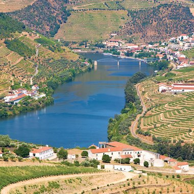 The Douro valley is Portugal