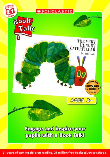 Book Talk - The Very Hungry Caterpillar