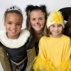 Children dressed up