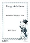 Big top certificate (1 page)