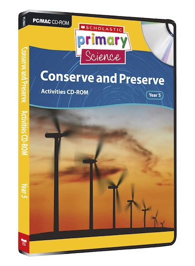 Earth and Space - Conserve and Preserve Activities CD-ROM