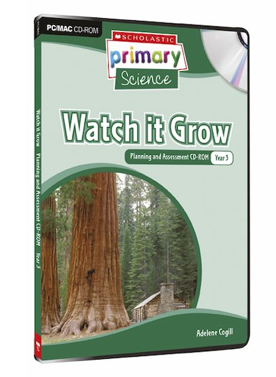 Living Organisms - Watch It Grow Planning and Assessment CD-ROM