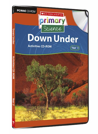 Earth and Space - Down Under Activities CD-ROM