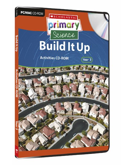 Technology and Structures - Build It Up Activities CD-ROM